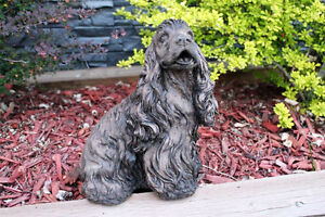 Concrete Statues - Small Dog - E100106-P