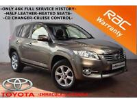 2010 Toyota RAV4 2.2D-4D 150bhp XT-R -NEW MODEL-ONLY 46K-FULL HISTORY-CRUISE-