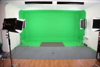Location Studio Photo/Vidéo - Green Screen
