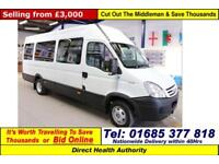 2008 - 58 - IVECO DAILY 40C15 3.0HPI OH BODY 11 SEAT PTS DISABLED ACCESS MINIBUS