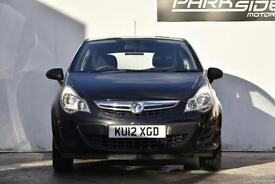 2012 Vauxhall Corsa 1.0 i ecoFLEX 12v S 3dr