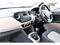 2016 Hyundai i10 1.0 S 5dr Petrol blue Manual