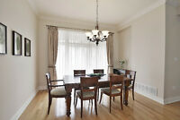 POTTERY BARN Dining Table Set wit 6 Chairs