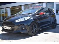 GOOD CREDIT CAR FINANCE AVAILABLE 2015 64 FORD FIESTA 1.0 ZETEC S BLACK EDITION
