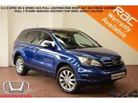 2011 Honda CR-V 2.2i-DTEC EX-FULL LEATHER-SAT NAV-CAMERA-FULL SERVICE HISTORY-