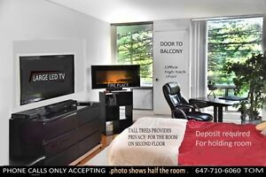 401 & DON MILLS.. HUGE PRIVATE ROOM  with key entrance ..