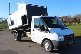 Ford Transit 2.4TDCi TREE/ARB TIPPER 350 MWB LOW MILES £16,995 + VAT