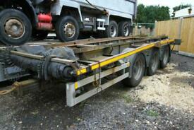 2011 RELOAD SYSTEMS ROLL ON ROLL OFF TRAILER 3 X AXLE TRAILER