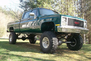 Antique 4X4 Monster Truck