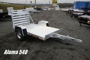 Aluminum 5.5'x8' Utility Trailer - Canadian Made