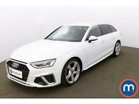 2020 Audi A4 30 TDI S Line 5dr S Tronic Auto Estate Diesel Automatic