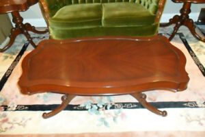Antique Coffee Table with Two matching End Tables