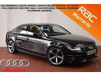 2010 Audi A4 1.8T FSI 160BHP S Line - FULL SERVICE HISTORY-HALF LEATHER-B/TOOTH