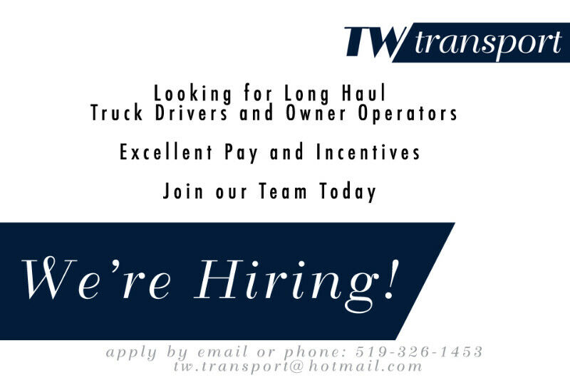 Long Haul Truck Driver & Owner Operators | Drivers