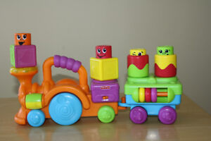Train musical Fisher Price