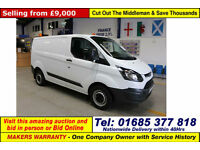 2014 - 14 - FORD TRANSIT CUSTOM 290 ECO-TECH 2.2TDCI 100PS VAN (GUIDE PRICE)