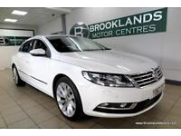 Volkswagen CC GT 2.0 TDI BMTECH DSG Auto [SAT NAV, LEATHER and HEATED SEATS]