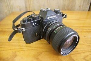 Vintage Cosina SLR Photo Film Camera With Lens Sydney City Inner Sydney Preview