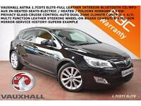 2011 Vauxhall/Opel Astra 1.7CDTi 16v (125ps) Elite-FULL HEATED LEATHER-BLUETOOTH