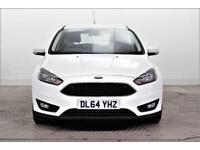 2015 Ford Focus ZETEC Petrol white Manual