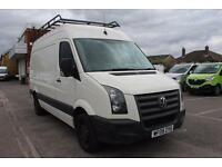 2009 Volkswagen Crafter 2.5 TDI 109PS High Roof Van Diesel white Manual