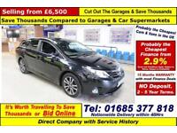 2012 - 62 - TOYOTA AVENSIS TR 2.0 D-4D 5 DOOR ESTATE (GUIDE PRICE)