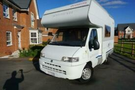 Dethleffs Advantage Globetrotter 4 berth 4 belts LHD family motorhome for sale