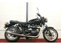 TRIUMPH BONNEVILLE 865 ** All Keys and Books - Centre Stand - Steering Damper **