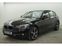 2012 BMW 1 Series 118D SPORT Diesel black Manual