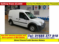 2008 - 08 - FORD TRANSIT CONNECT T230 1.8TDCI 90PS LWB 5 SEAT CREW VAN