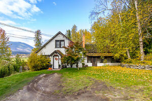 Salmon Arm  - 1930's home on 1.9 acres