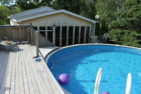 COTTAGE - POOL - CAISSIE CAPE - BEACH