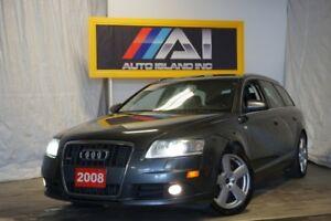 2008 Audi A6 Rear Camera, Leather, Sunroof, Alloy