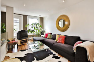 All furnished apartment in Le Plateau