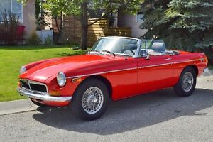 1977 MGB Convertible  Ready for Summer!