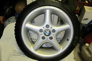 1 RIM AND VERY GOOD WINTER TIRE.   L@@K