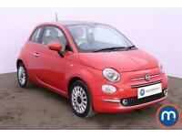 2017 Fiat 500 1.2 Lounge 3dr Dualogic Auto Hatchback Petrol Automatic