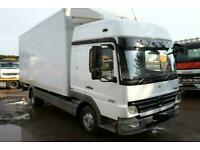 2008 MERCEDES ATEGO 818 4X2 BOX TRUCK WITH TAIL LIFT DAF IVECO MAN ACTROS FRIDG