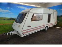 1994 Fleetwood Garland 165/4 4 Berth Touring Caravan