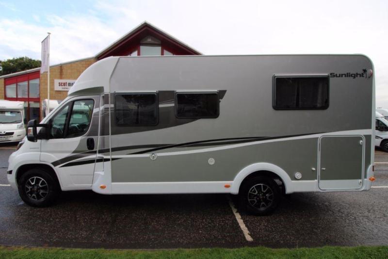 Sunlight T69S 4 Berth Motorhome for sale