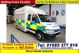 2006 - 56 - IVECO DAILY 65C17 3.0HPI CREW CAB INCIDENT SUPPORT UNIT