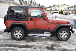 REDUCED - Clean 2003 Jeep TJ Coupe 4x4