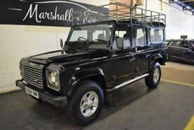 2004 54 LAND ROVER DEFENDER 110 2.5 110 TD5 XS STATION WAGON 5D 120 BHP 9 SEATS