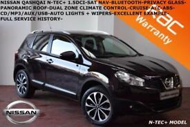 2012 Nissan Qashqai 1.5dCi N-TEC+LOW MILES-FULL SERVICE HISTORY-NAV-CAM-B.TOOTH-