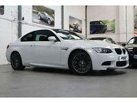 BMW M3 V8 DCT, 10 Reg, Only 31k, Alpine White, Black Leather, Sat Nav.