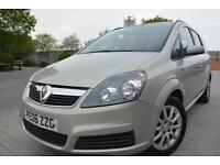 VAUXHALL ZAFIRA CLUB 1.6 7 SEATER MPV*LOW MILEAGE*LONG MOT*SERVICE HISTORY*
