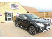 2016 FIAT FULLBACK LX 180 DOUBLE CAB WITH MOUNTAIN TOP PICK UP DIESEL
