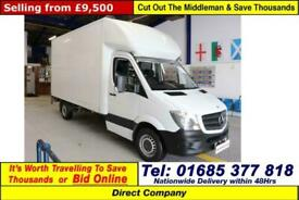 d0a61d56e3 2010 - 60 - MERCEDES SPRINTER 313 2.2CDI MWB HIGH-TOP HUBBARD FRIDGE ...