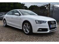 GOOD CREDIT CAR FINANCE AVAILABLE 2014 14 AUDI A5 2.0TDI SPORTBACK S LINE
