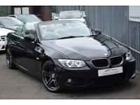 2012 BMW 3 Series 320 Convertible 2.0d 184 Sport Plus Edition St6 Diesel black A